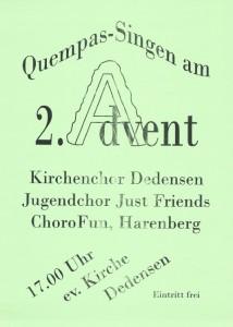 Plakat Quempas Dedensen