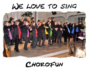We love to sing