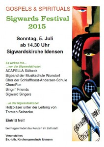 Plakat Sigwardsfestival 2015